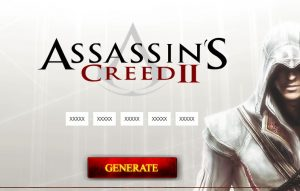 cd key or activation code for assassin creed 2