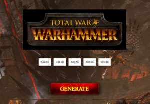 total war warhammer key activation