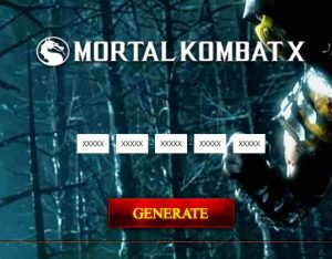 mortal kombat x activation product key free download
