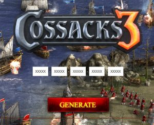 cossacks 3 product activation key
