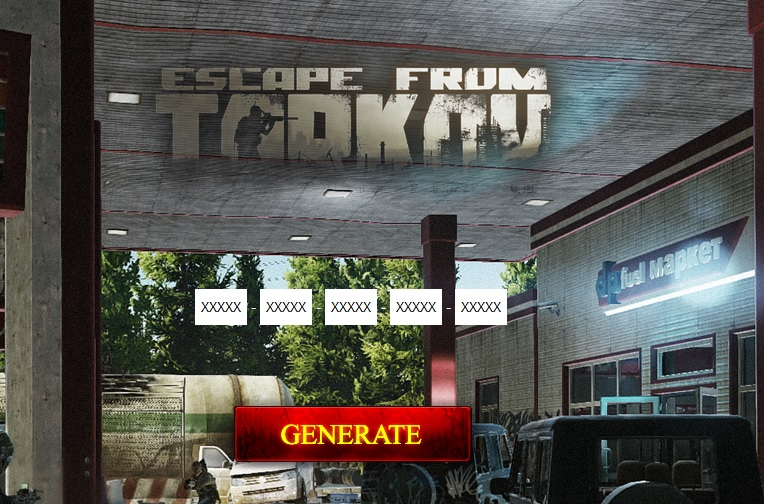 Escape from Tarkov CDKey Generator Generate Serial Key