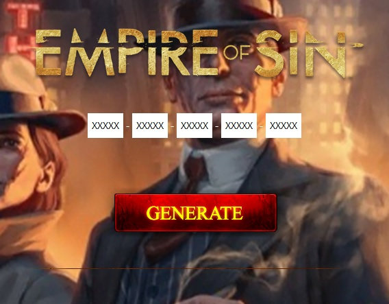 Empire of Sin Generator Generate Serial Key